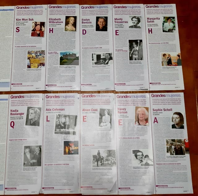 10 Coleccionables Grandes Mujeres