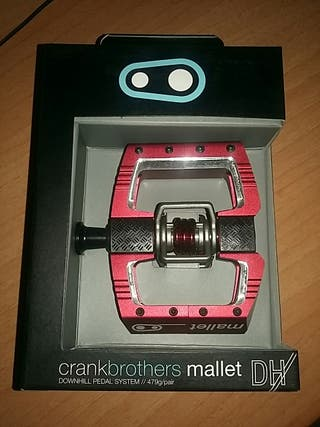 pedales crank brothers mallet dh