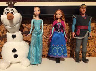 Lote Muñecos Frozen
