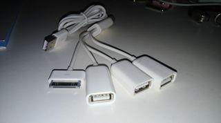 Cable triple carga