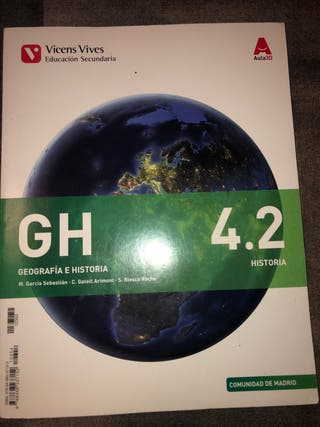 Libro geografía e historia 4ESO