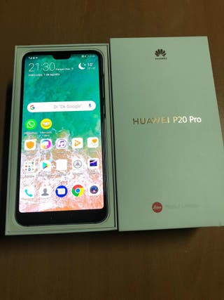 Huawei P20 Pro 128Gb negro impecable