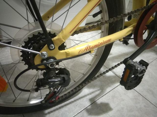 "Bicicleta plegable ""Vintage"""