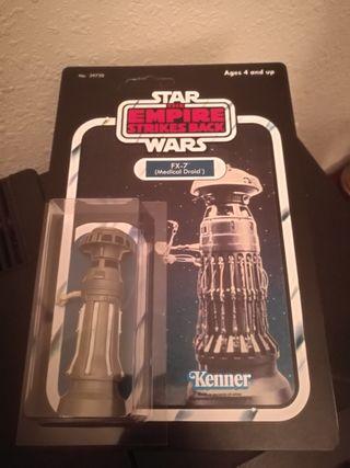 Star Wars FX-7 medical droid 80 vintage en blister