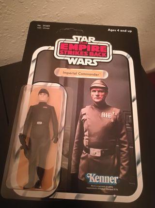 Star Wars IMPERIAL COMMANDER 80 vintage en blister