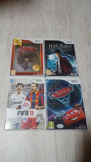 Lote juegos Wii