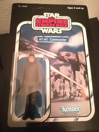 Star Wars AT-AT COMMANDER 1980 vintage en blister