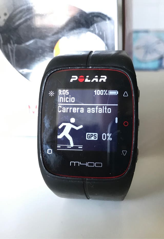 Reloj Polar M400 + pulsometro