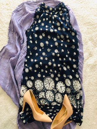 Vestido Lavand, azul