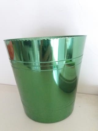 Hielera aluminio vintage