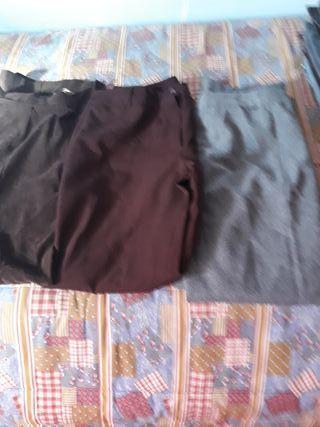 3 pantalones de vestir mujer