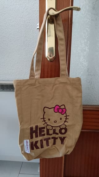 Bolso Hello Kitty marrón