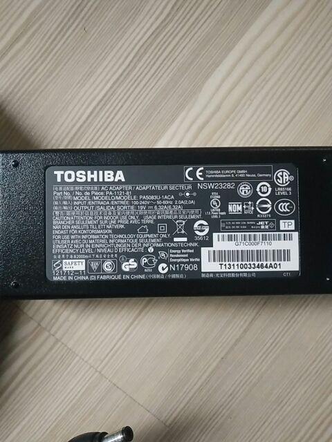 cargador Toshiba Satellite U500 M505