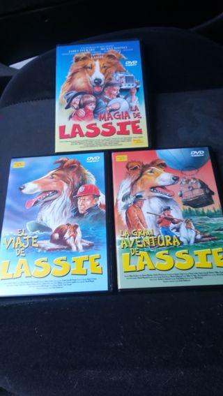 3 películas de Lassie
