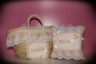 cestas y capazos arras o comunión