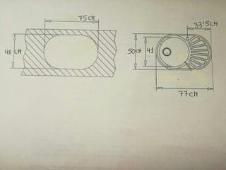 fregadero Teka inox modelo DR 77