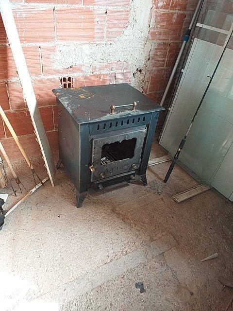 estufa de hierro