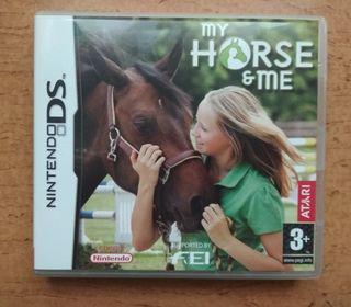 """Juego Nintendo DS """"My Horse"""""""