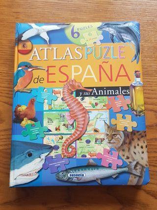 Atlas puzzle de España