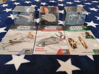 Colección de naves y vehículos de Star Wars