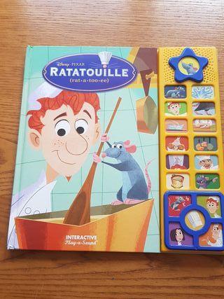 Libro Ratatouille con sonidos