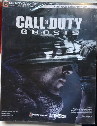 Guía oficial Call of Duty Ghost - Precintada
