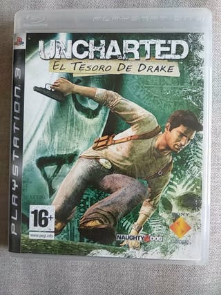 playstation 3 PS3 uncharted el tesoro de Drake