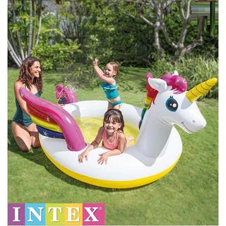 PISCINA HINCHABLE PARA NIÑOS INTEX UNICORNIO