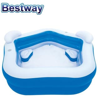 Piscina hinchable jacuzzi Bestway familiar