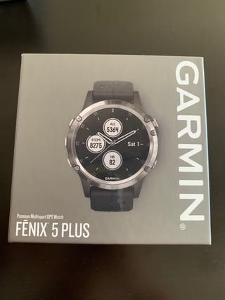 Garmin Fenix 5 Plus 47mm precintado
