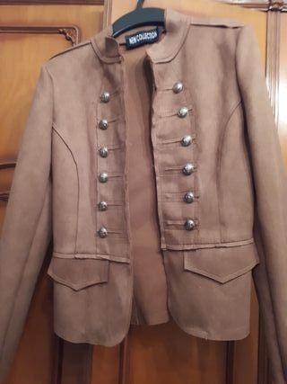 chaqueta d ante