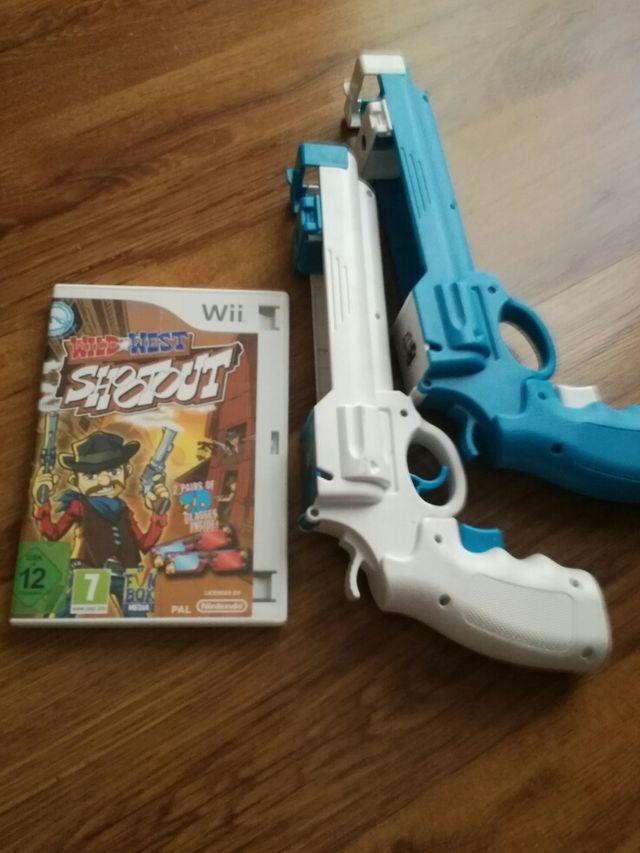 Wii más juegos y accesorios