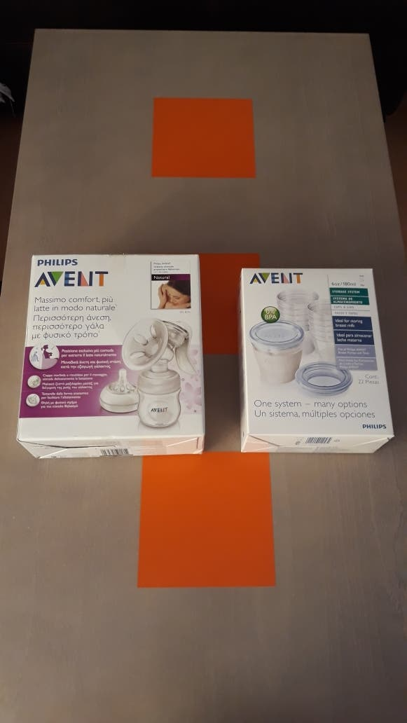 SACALECHE MANUAL PHILIPS AVENT