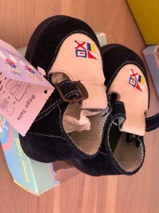 Zapatos bebé piel NUEVOS A ESTRENAR