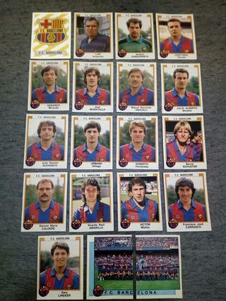 Cromos F.C. Barcelona 87/88