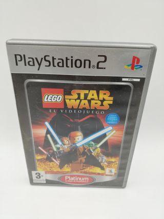 LEGO STAR WARS EL VIDEOJUEGO PLATINUM PS2