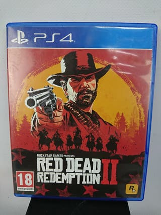 JUEGO PS4 RED DEAD REDEMPTION II + horizon zero da