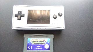 Gameboy micro con 1 juego