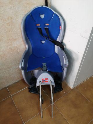 silla de niño para bici