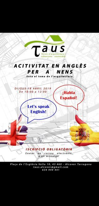 Activitat en anglès per a nens - Alcover