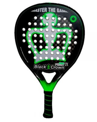 PALA DE PADEL BLACK CROWN