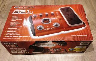 Zoom Bass Effects Pedal B2.1u