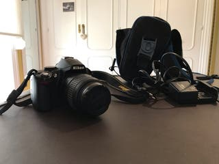 Nikon D3000 con AF-S Nikkor 18-55mm f3,5-5,6