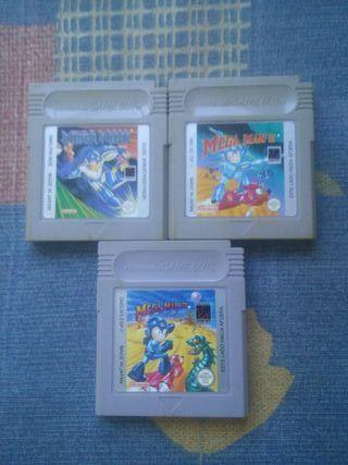 Trilogia megaman Gameboy