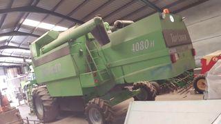 cosechadora deuzt fahr 4080