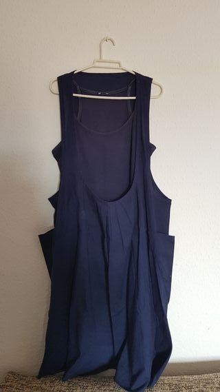 vestido doble original con bolsillos