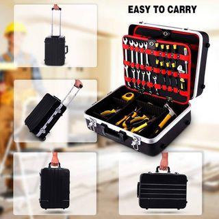 Caja de herramientas ABS Trolley Case Perel