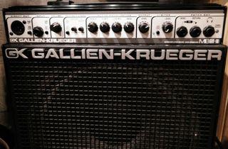 GK Gallien Krueger MBS III + MXS 112