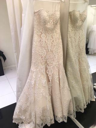 Vestido de novia 'Rosa Clará'
