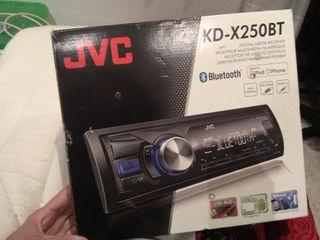 radio jvc para el coche